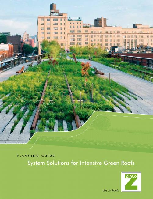 Brochure Download Zinco Green Roof Systems Usa